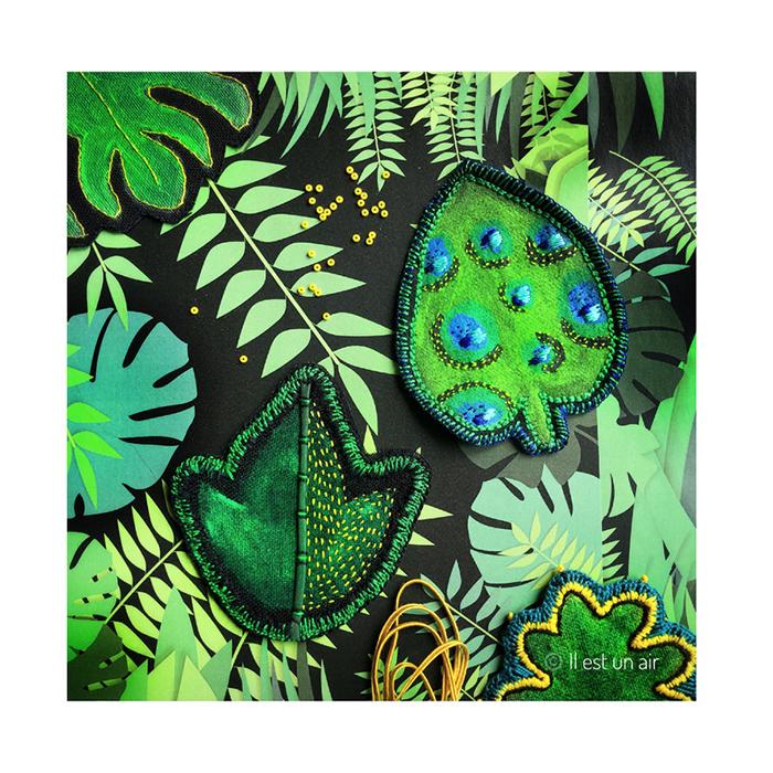 herbier tropical textile